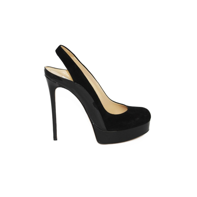 Босоножки Gianmarco Lorenzi art 0022 nero